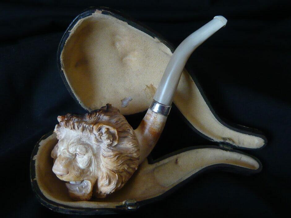 Antike Meerschaumpfeife