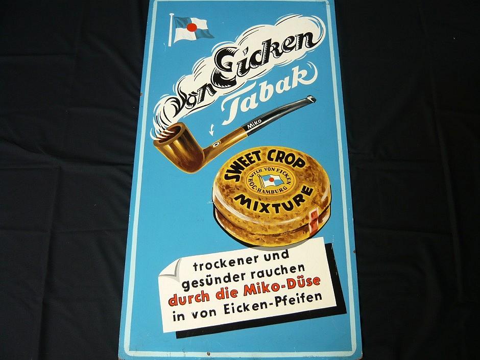 """Werbebild der Tabakfirma """"von Eicken"""""""