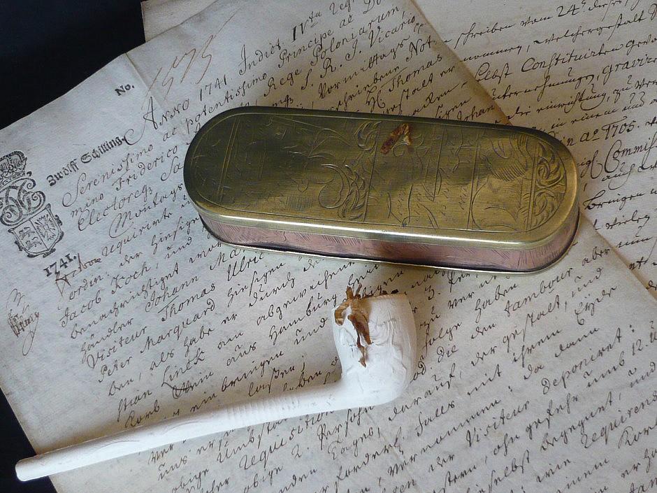Tabakdose für Rauchtabak